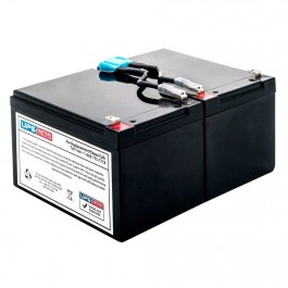 This is an AJC Brand Replacement APC Smart-UPS SUA1000I 12V 12Ah UPS Battery
