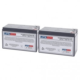 Rechargeable, high Rate Best Power BTG-0301 Replacement Battery