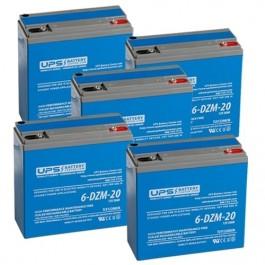 Daymak Beast Standard 60V 20Ah Replacement Batteries