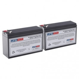 Set of 4 PowerWare 800 UPS Replacement Batteries