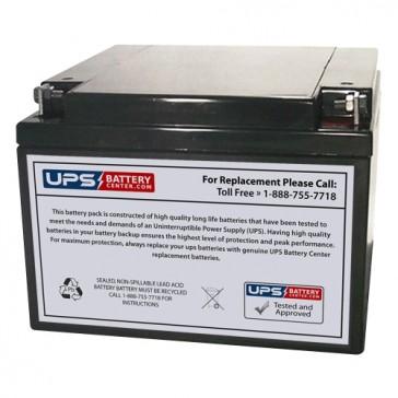 MaxPower NP24-12 12V 24Ah Battery