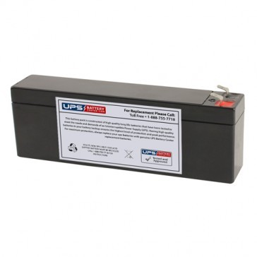 New Power NS12-2.6 12V 2.6Ah Battery