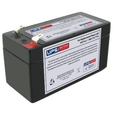 Douglas DG12-1.2F 12V 1.4Ah Battery