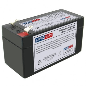 Napco Alarms MA1000E PAK 12V 1.4Ah Battery