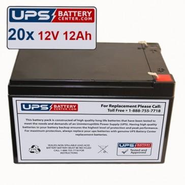 Acoma Medical Imaging MBA 200 Portable X-ray Batteries - Set of 20