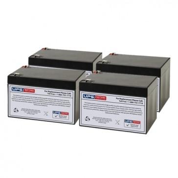 Altronix MAXIM5D 12V 12Ah Batteries