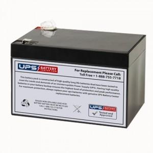 Sunlight SPA 12-10 12V 10Ah Battery