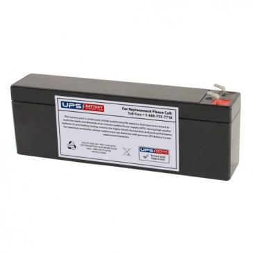 Multipower MP2.4-12C 12V 2.6Ah Battery