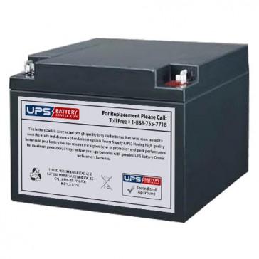 R&D 5424 12V 26Ah Battery