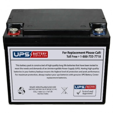 Wangpin 6FM38 F11 Insert Terminals 12V 38Ah Battery