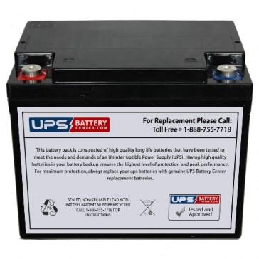 MCA NP38-12BQ 12V 38Ah Battery