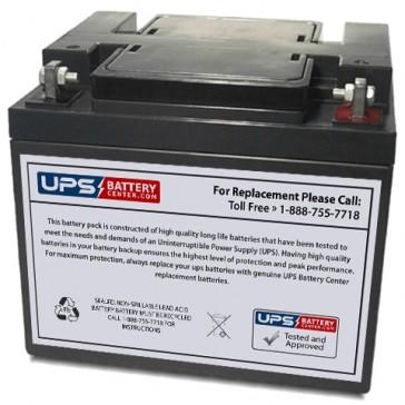 Unicell TLA12400 12V 40Ah Battery
