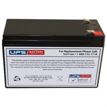MCA NP7.5-12 12V 7.5Ah Battery