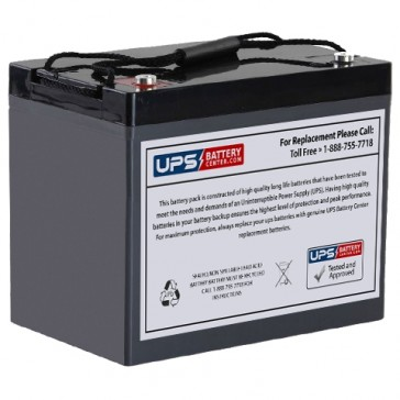 Tysonic TY12-90 F7 Insert Terminals 12V 90Ah Battery