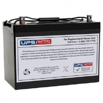 SES BT90-12 12V 90Ah T16 battery