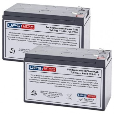 Altronix SMP3PMCTXPD8 12V 7.2Ah Batteries