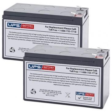 Potter Electric PFC-5004 (Set of 2) 12V 9Ah Batteries