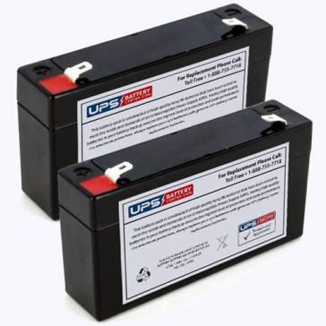 Impact Instrumentation 320GR Portable Aspirator Batteries - Set of 2