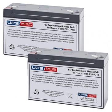 Emergi-Lite/Kaufel 6M4-CS Batteries