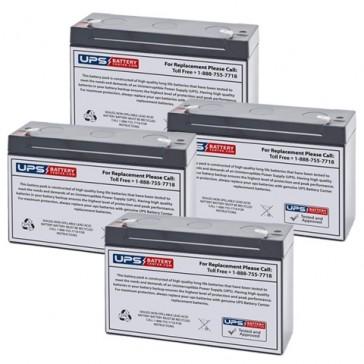 Emergi-Lite/Kaufel 24M6-G Batteries