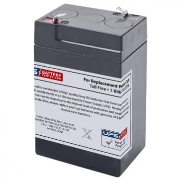 MaxPower NP5-6 6V 5Ah Battery