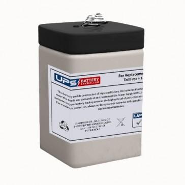 LONG WP5-6S 6V 4.5Ah Battery