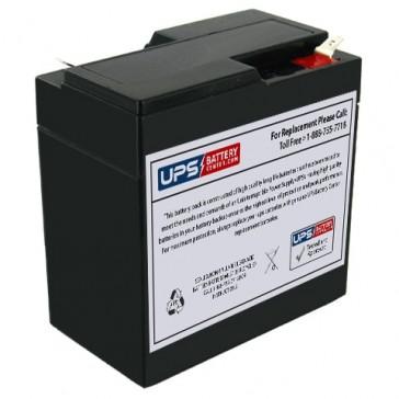 National NB6-6.5 6V 6.5Ah Battery