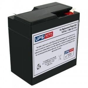 JASCO RB667 6V 6.5Ah Battery