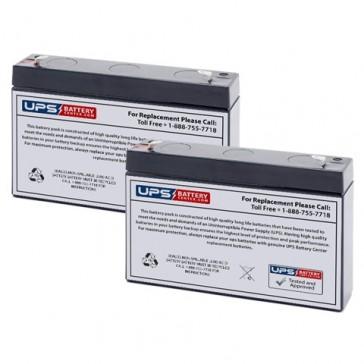 GOULD SP2204 Blood Flow Monitor Batteries
