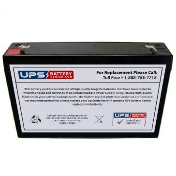 New Power NS6-8 6V 8Ah Battery
