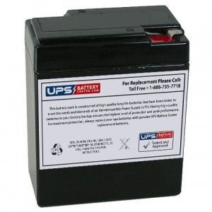 Mule PM682 6V 9Ah Replacement Battery