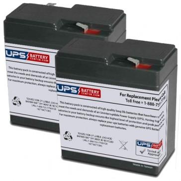 Emergi-Lite/Kaufel 12M3 Replacement Batteries
