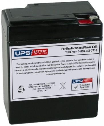 Vasworld Power GB6-9 6V 9Ah Battery