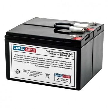 APC Smart-UPS 700VA Shipboard SU700X93 Compatible Battery Pack