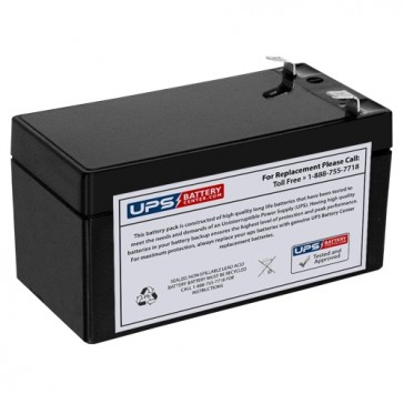 Dahua 12V 1.3Ah DHB1213 Battery with F1 Terminals