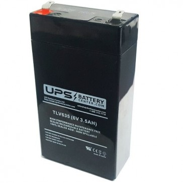 FirstPower 6V 3.5Ah FP632A Battery with F1 Terminals