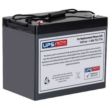 IBT 12V 90Ah BT90-12 Battery with M6 Insert Terminals