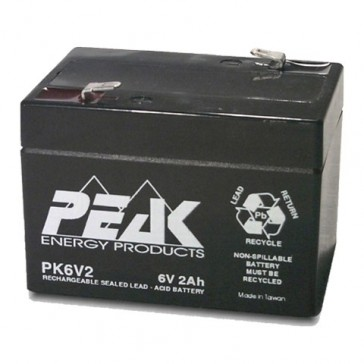 Instantel Minimate Plus Battery - PK6V2F1 6V 2Ah for Minimate
