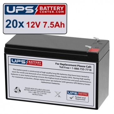 ONEAC SE041XIT Compatible Replacement Battery Set