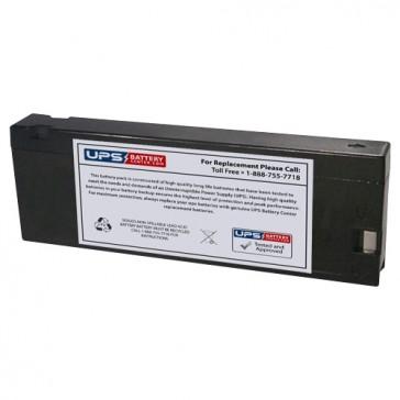 Philips M3500B Heartstream XLT Transport Defibrillator 12V 2.3Ah Battery