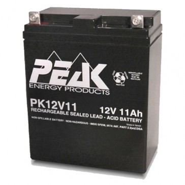 PK12V11 12V 11Ah Peak Energy Battery