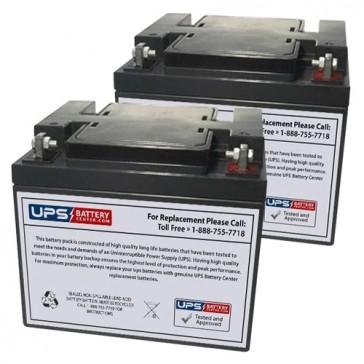 Superscooter Quadriporteur Shoprider Trailblazer 889SL/SE 24V 50Ah Battery Set