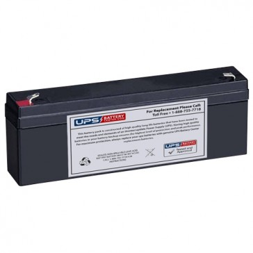 TLV1223 - 12V 2.3Ah Sealed Lead Acid Battery with F1 Terminals