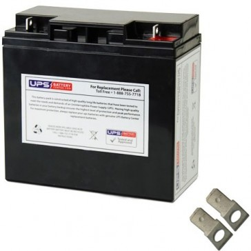 Werker 12V 18Ah WKA12-18F2 Battery with F2 Terminals