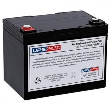 XYC 12V 33Ah XT12330 Battery with F9 Terminals