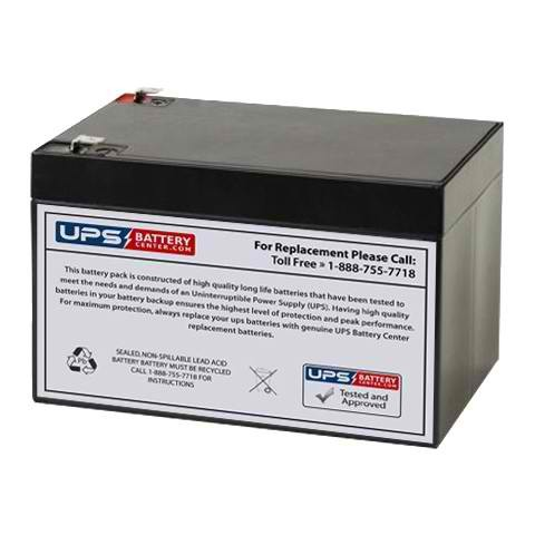 Panasonic LC-RA1212P//P1 12V 12Ah Battery