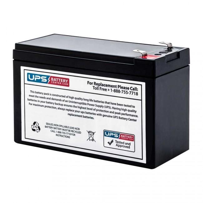 Model # RBC110 UPSBatteryCenter APC Back-UPS 550VA 120V BE550G-LM Compatible Replacement Battery