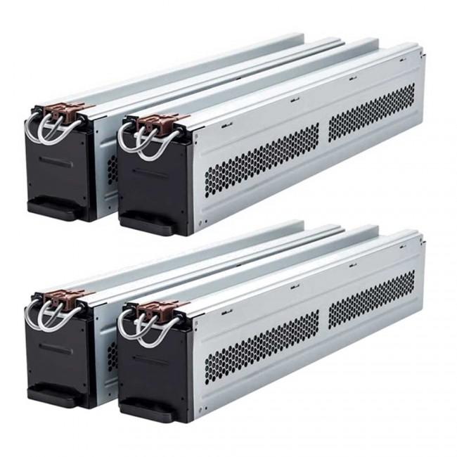 APC Smart-UPS RT 10KVA RM 208V w/ (2) 208V to 120V 2U Step-Down Transformer  SURT10KRMXL6U-TF5 Compatible Replacement Battery Pack