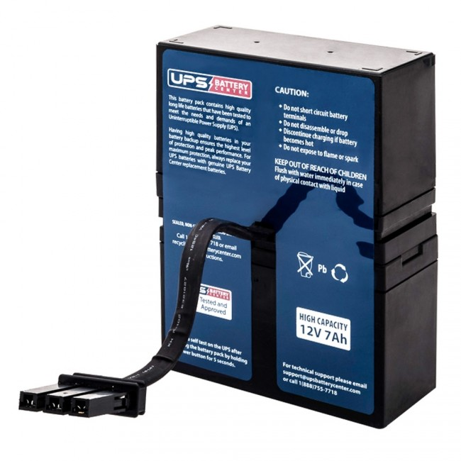 BN1050 Compatible Replacement Battery Pack APC Back-UPS NS 1050