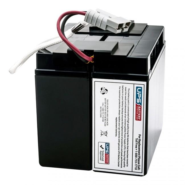 UPSBatteryCenter RBC22 Compatible Replacement for APC Smart-UPS 700VA RM 2U 120V SU700RM2U Battery Pack
